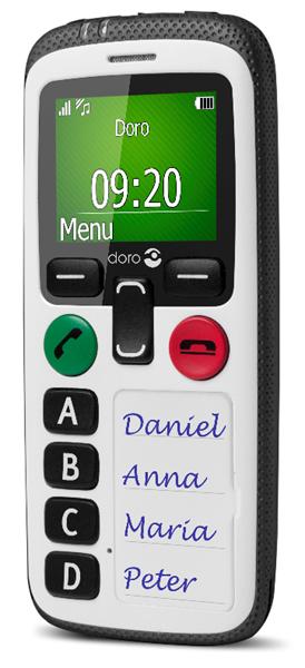 Doro ajoute à sa gamme de produits Care un téléphone minimaliste
