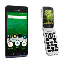 Doro lance deux nouveaux téléphones pour les seniors