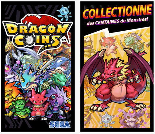 Dragon Coins sort sur iOS et Android