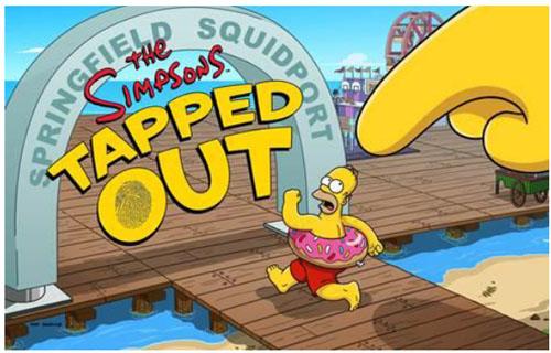Du nouveau contenu « front de mer » débarque sur la promenade du jeu Les Simpson Springfield