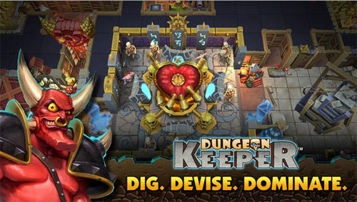 Dungeon Keeper débarque sur iPhone et Android