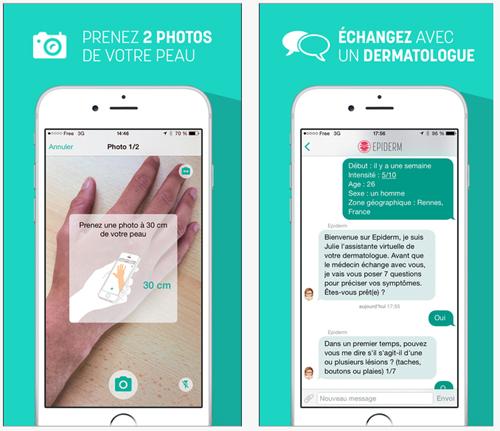 Epiderm rend la dermatologie plus accessible via un service en ligne