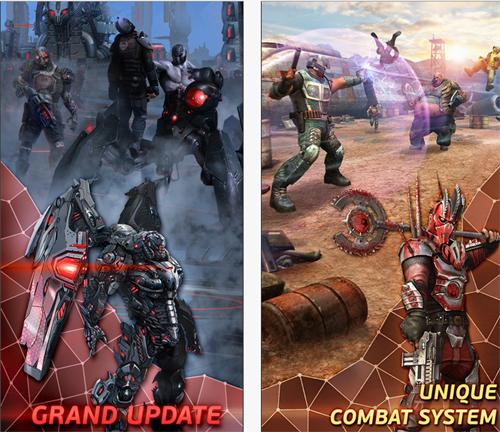 Evolution : Heroes of Utopia, un jeu gratuit sur iOS et Android