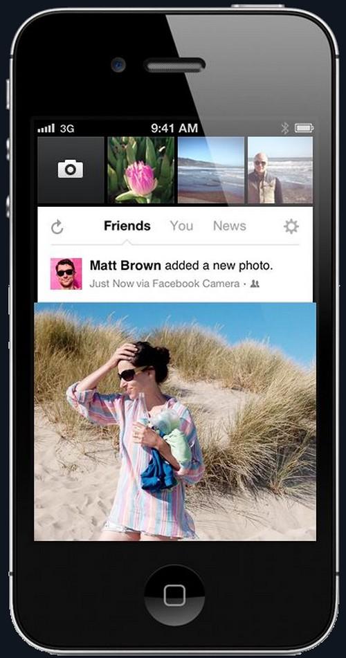 Facebook a supprimé Poke et Camera de l'App Store