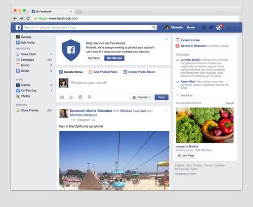Facebook Security Checkup : un outil pour assurer la sécurité d'un compte