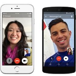 Facebook s'attaque � Skype, Facetime et Hangouts avec les appels vid�o de Messenger