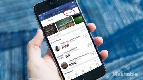 Discover : la nouvelle fonctionnalité pour découvrir des groupes sur Facebook ?