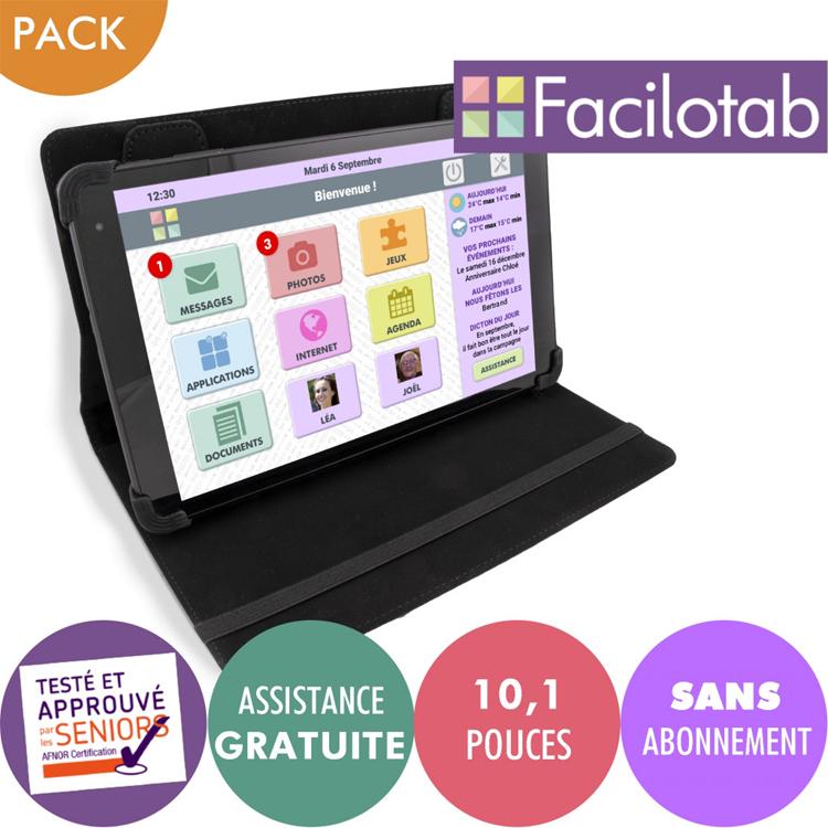 Facilotab étoffe sa gamme de tablettes dédiées aux séniors