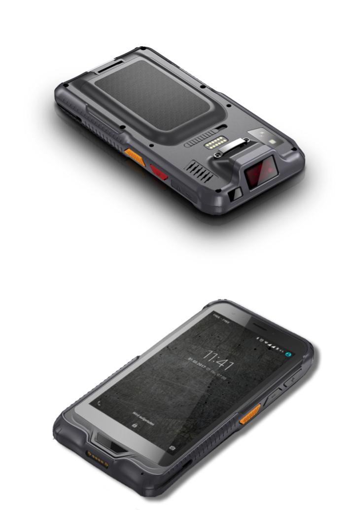 Le Fieldbook F60, un smartphone doté d'un scanner de code-barres professionnel