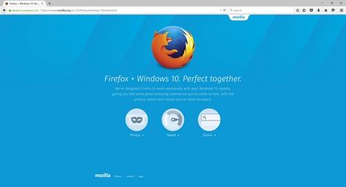 Firefox 40 : une version optimisée pour Windows 10