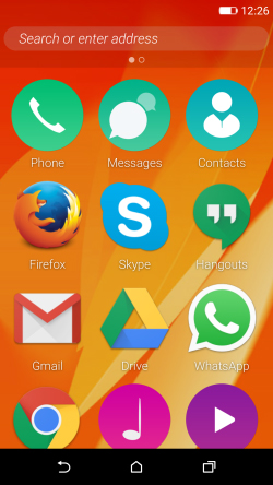 Firefox OS 2.5 s'invite sur Android
