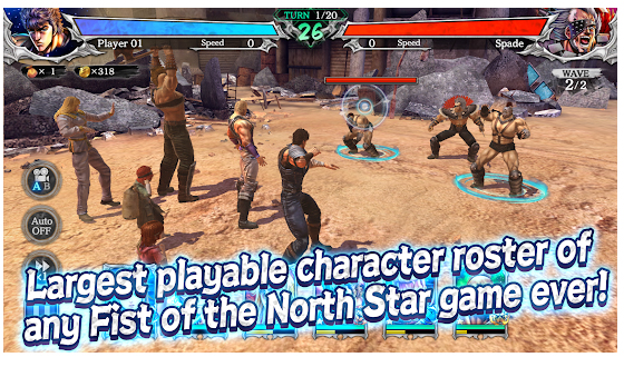 Fist of the North Star Legends Revive déploie sa colère sur iOS et Android