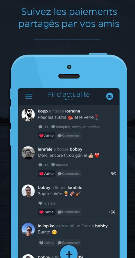 Flooz, une application de paiement qui intègre une dimension sociale
