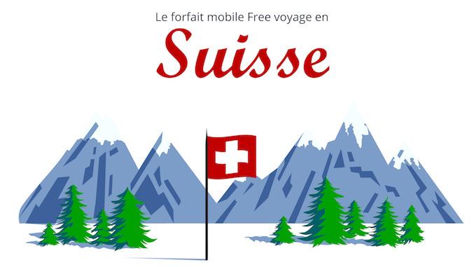 Free Mobile : 25Go/mois d'Internet mobile inclus depuis la Suisse