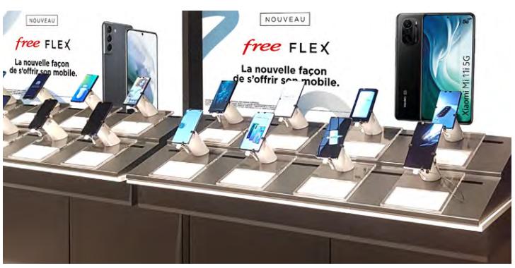 Free Flex, une nouvelle offre de location avec option d'achat pour acquérir un smartphone