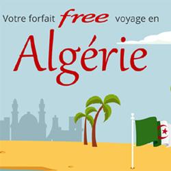 Free inclut désormais 25Go/mois de roaming en Algérie