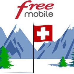 Forfait mobile Free : 25Go/mois d'Internet mobile depuis la Suisse sont inclus