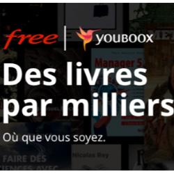 Free offre l'abonnement à la bibliothèque numérique de Youboox One