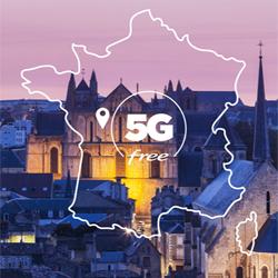 Free ouvre son réseau 5G à Poitiers