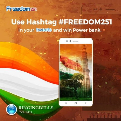 4 euros est le prix du  Freedom 251 qui le smartphone le moins cher au monde