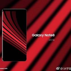 Galaxy Note 8: un nouveau rendu officiel et des rumeurs sur le lecteur d'empreintes