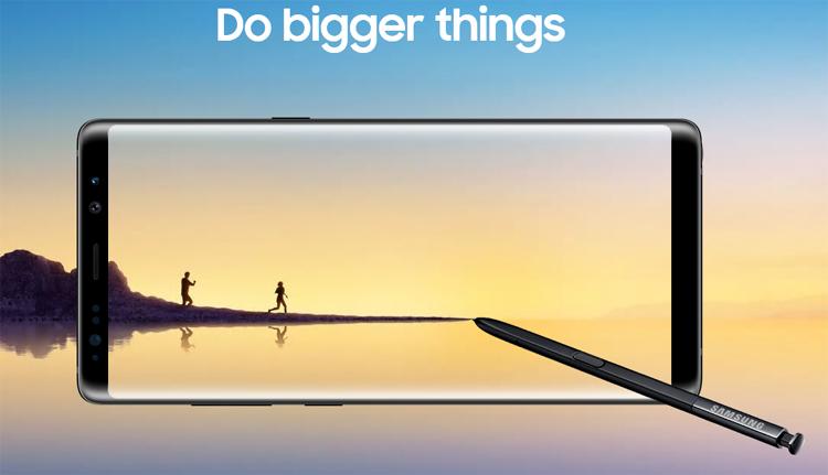 Galaxy Note 8 : Samsung est dopé par des précommandes record