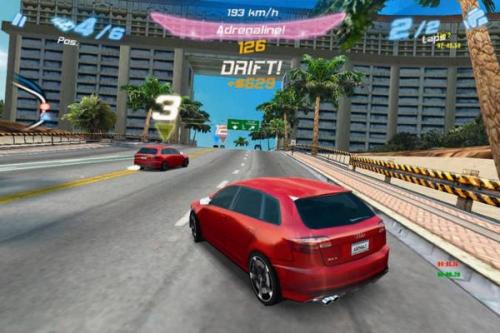 Gameloft et Audi lancent Asphalt Audi RS 3 pour iPhone