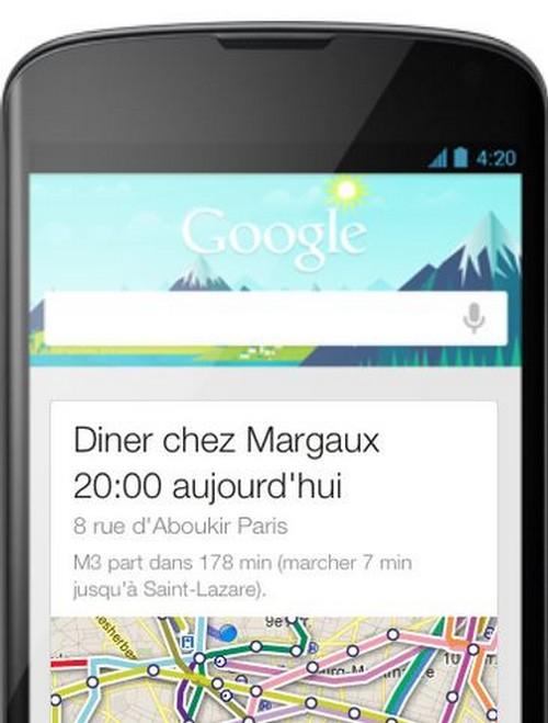 Gmail et Google Now permettent de ne plus oublier ses factures
