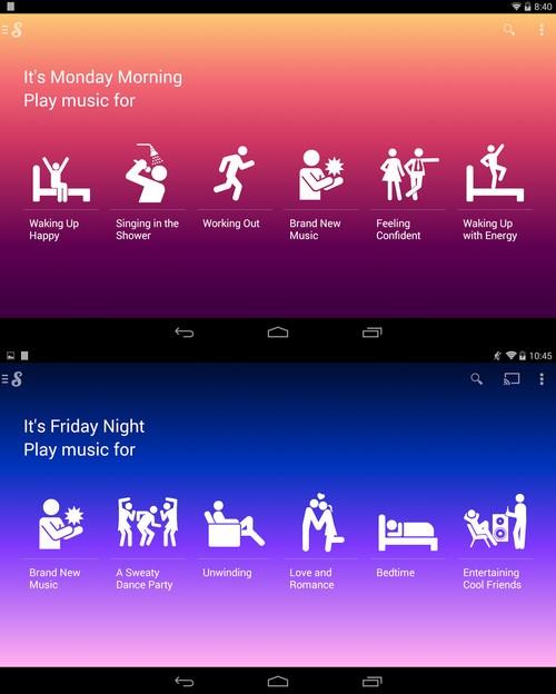 Google a racheté Songza un service de playlist personnalisée