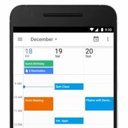 Google ajoute les rappels à la fonction Agenda