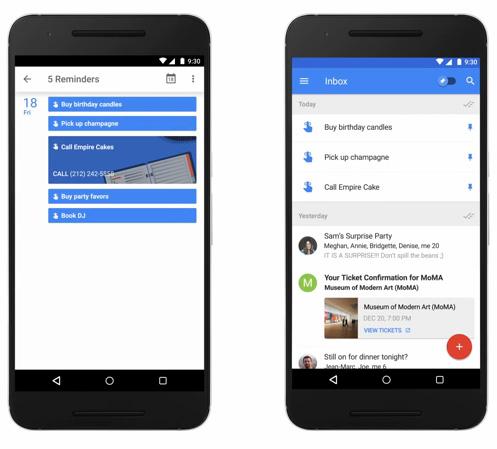 Google ajoute la fonction Rappel à son agenda