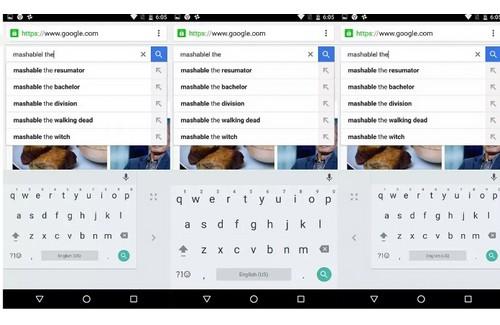 Google : mise à jour du clavier Android pour faciliter la rédaction avec une main