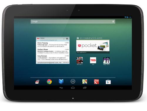 Google dévoile une nouvelle version de sa tablette Nexus