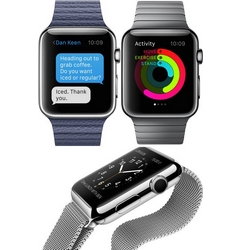 Google lance sa premi�re application Apple Watch : News and Weather