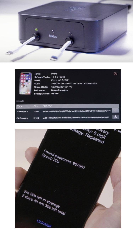 GrayKey : le boîtier qui déverrouille tous les iphone