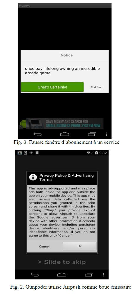 Gunpoder : une nouvelle famille de Malware Android est découverte