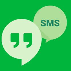 Hangouts pourrait arrêter l'envoi des SMS et des MMS
