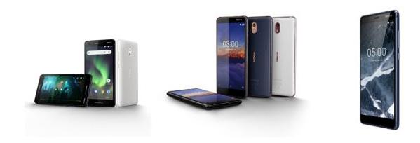 HMD Global dévoile sa nouvelle génération de Nokia 2, 3 et 5
