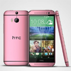 HTC d�cline son  mod�le One M8 en rouge passion et rose glamour