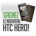 HTC met en place un jeu concours pour gagner un HTC Hero chaque semaine