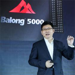 Huawei dévoile son processeur 5G