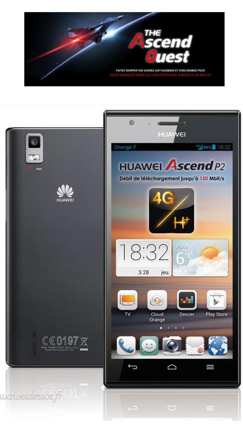 Huawei lance l'opération The Ascend Quest avec Orange