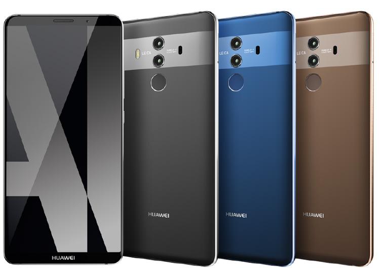 Huawei veut défier Apple avec le Mate 10 et le Mate 10 Pro