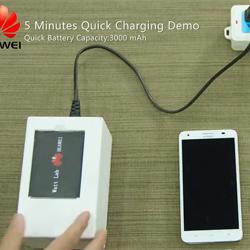 Les batteries qui se chargent en 5 minutes chez Huawei, c'est pour bientôt!