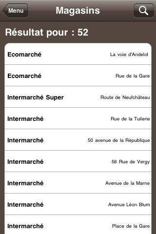 Intermarché lance une nouvelle version de son application iPhone