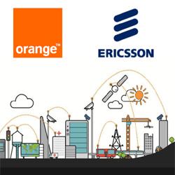 Ericsson et Orange testent un réseau dédié à l'internet des objets (IoT) basé sur les réseaux GSM et LTE