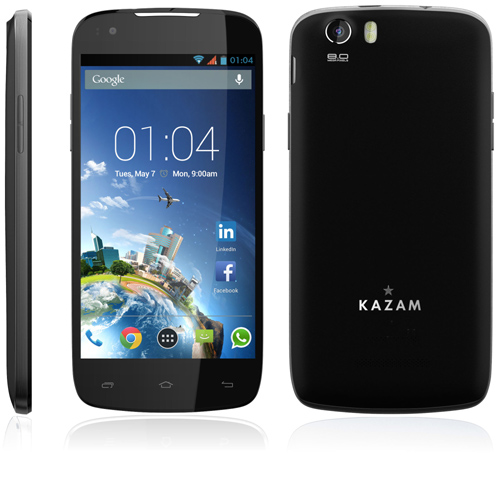 KAZAM dévoile son premier téléphone LTE 4G
