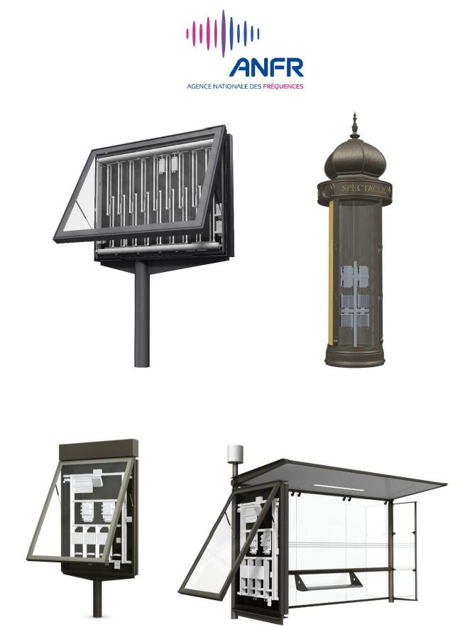L'ANFR publie un rapport sur le déploiement de petites antennes dans du mobilier urbain