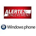 L'application Alerte enlèvement est désormais disponible sur Windows Phone 7