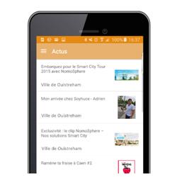 L'application City2Gether permet de communiquer avec son élu